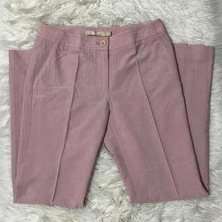 g2000 baby pink striped pants
