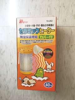 🚚 Ms. Pet 陶瓷保溫燈 40w燈罩+燈泡(寵物鼠🐹/兔🐰/鳥🐦/蜜袋鼬)