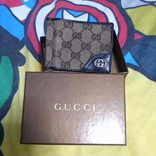 Preloved Gucci Wallet With Moneyclip