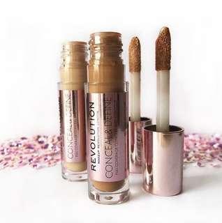 Sale! Conceal and Define Full Coverage Concealer by Makeup Revolution