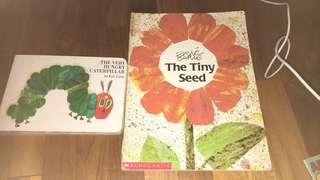 Eric Carle book set of 2