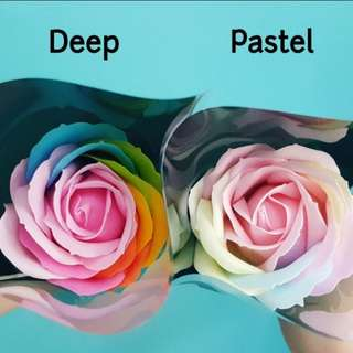 Mothers Day Pastel Soap Flower - Pastel