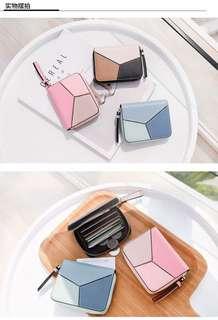 PO korean Tassel short wallet / mini wallet / coin purse / card holder/ mrt card holder/