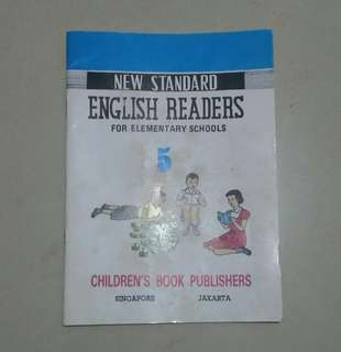 New Standard English Readers For Elementary Schools
