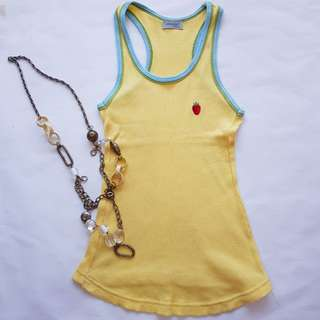 Genada Yellow Singlet