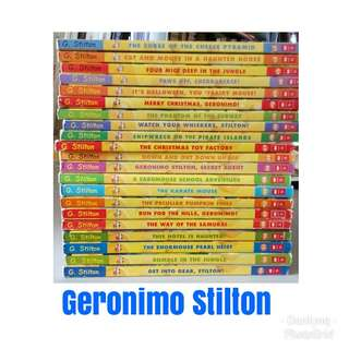 YTMRT, min $3, varied prices, Geronimo Stilton, Thea Stilton books.