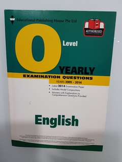 Free GCE O Level English Paper with solution