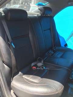 Toyota Vios 93R rear seat