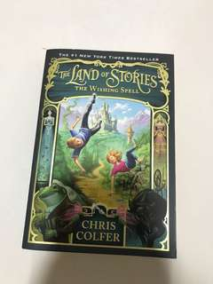 The wishing spell land of stories