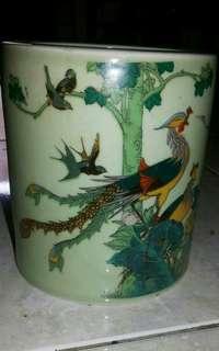 Keramik Unik Vintages Phonixe dan Bangau