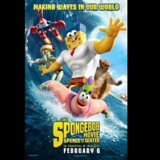 [Rent-A-Movie] THE SPONGEBOB MOVIE SPONGE OUT OF WATER (2015) [MCC004]