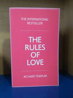 The rules of Love | Richard Templar
