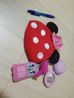 Baby Disney Minnie mouse bag