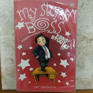 Buku Novel My Stupid Boss - Fans Stories (PRELOVED)