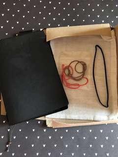 Preloved Authentic Midori traveler's notebook passport size in black