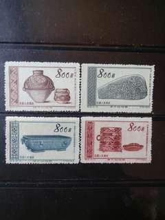 [lapyip1230] 新中國 1954年 特9 偉大的祖國 新票全套 Set Mint
