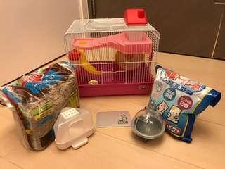 倉鼠籠及配件