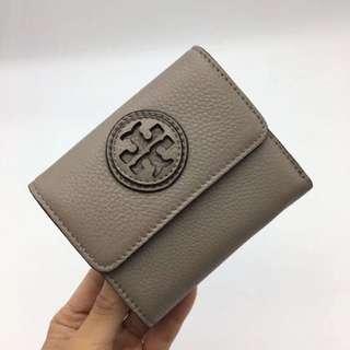 Tory Burch Grey Marion Mini Wallet