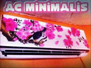 Ac minimalis kristal sejukan udara ruangan