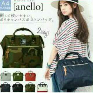 Anello Boston Bag Large Size