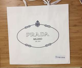 Prada 紙袋