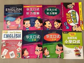 - Bundle of oral books for p1-3