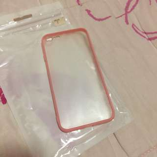 •brandnew• Iphone 7 Candy Pink Clear Case