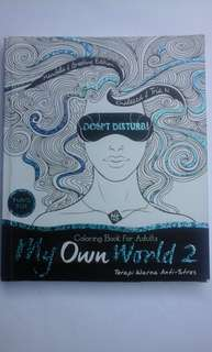 My Own World ( Coloring book for adult )