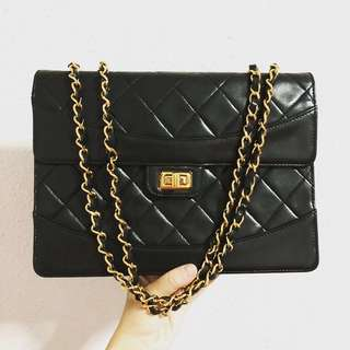 Authentic Chanel Exclusive limited edition Reissue Vintage bag with 24k Gold Hardware