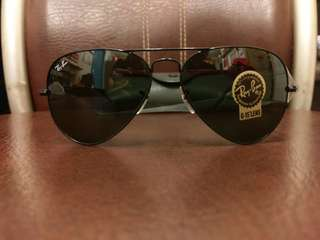 Ray Ban 太陽眼鏡 aviator lenses rb3025 58mm 62mm size rayban brand new full packages original made in Italy