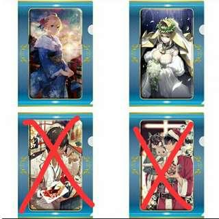 [Fate Grand Order] Saber & Saber Bride Files Set