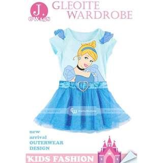 dress anak perempuan gw158 j