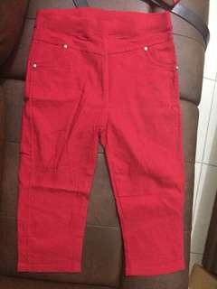Celana pants merah red