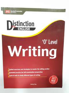 Distinction English Writing O Level