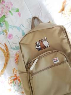 We Bare Bears Bagpack