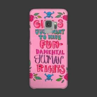 Feminist Samsung Galaxy S9 Custom Hard Case
