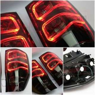 ford ranger t6 t7 rear light bar led tail lamp