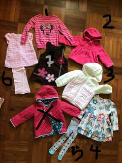 Cool weather clothing for 2 year old