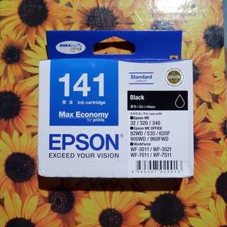 EPSON T141 Ink Cartridge (black)