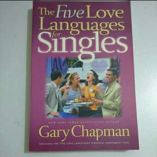 The Five Love Languages For Singles - Book