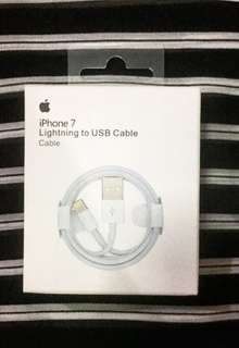 Original Lightning to USB cable (brandnew)