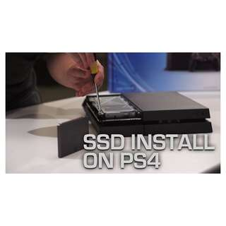 PS4 SSD Upgrade