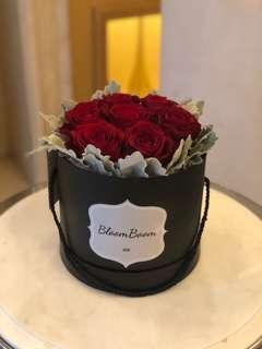 Fresh flower box