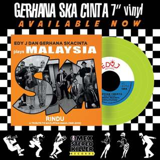 "GERHANA SKA CINTA - RINDU 7"" Vinyl"
