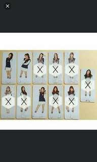 [LF/WTB] IOI Chrysalis Photocard for 3 member (Mina/Doyeon/Sohye)!! or Chrysalis Poster (All individual member poster)!!