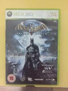 Batman Arkahm Asylum