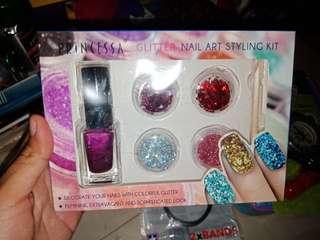 Princessa Glitter Nail Art Styling Kit