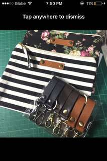 Key holder and pouch