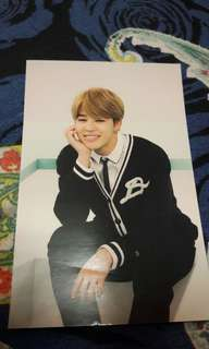 Sell fast!! Jimin 3rd muster card