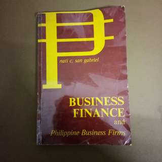 Business Finance (Nati C. San Gabriel
